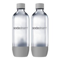 Бутыль Sodastream Twin Pack plastic grey 1л. 2шт