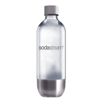 Бутыль Sodastream Metal Steel plastic  1л.